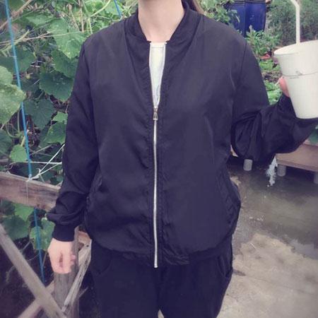 雙兒網:外套韓妞最愛MA-1休閒飛行外套薄款防曬外套【C3001-1】☆雙兒網☆