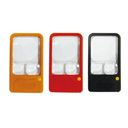 LIFE 徠福 口袋型照明放大鏡 3倍.5倍.7倍  NO.7371