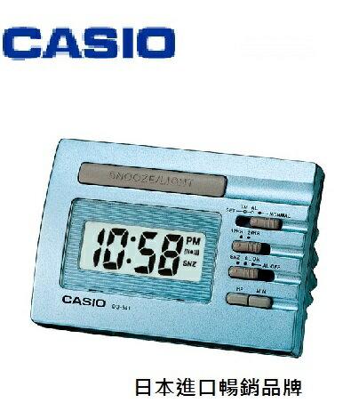 CASIO 卡西歐 DQ-541D 溫度計型鬧鐘 / 個 (顏色隨機出貨)