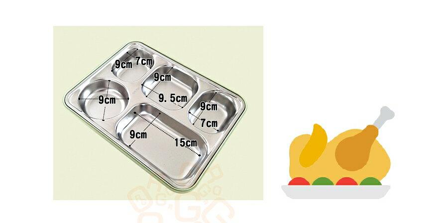 ORG《SD1012》304不鏽鋼~ 可微波 五格 便當盒 野餐盒 餐盒 露營 餐盤 環保餐盒 不鏽鋼餐具 不鏽鋼餐盒 6