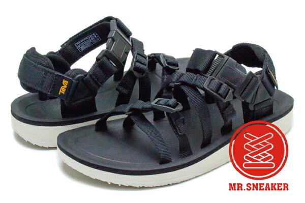 ☆Mr.Sneaker☆TevaAlpPremier機能涼鞋EVA中底Black黑色女段女鞋