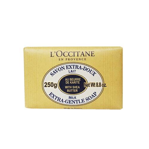 L'OCCITANE 歐舒丹 乳油木牛奶皂 250g  效期:05  2017