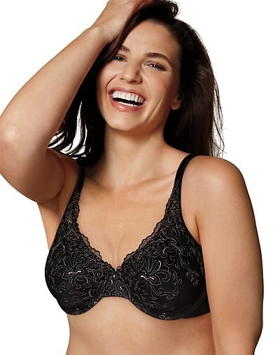 3206aad788 Hanesbrands  Playtex Love My Curves Beautiful Lift with Embroidery ...