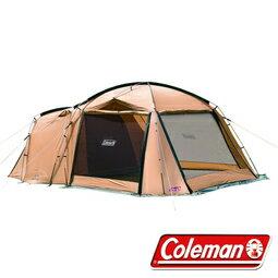 《台南悠活運動家》Coleman TOUGH SCREEN 2 ROOM 帳篷 4-5人帳 網屋-CM-31571