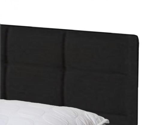 Queen Size Faux Leather Platform Bed Frame Slats Upholstered Headboard 5