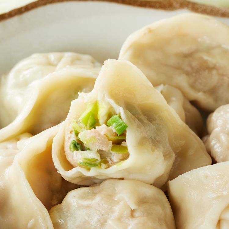 韭黃水餃 葷食 (12粒裝)  美味水餃 新鮮食材 手工製作