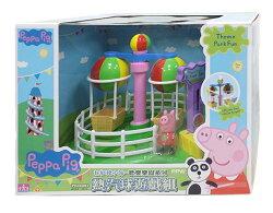 【Peppa Pig】粉紅豬小妹 歡樂樂園系列 熱氣球遊戲組★衛立兒生活館★