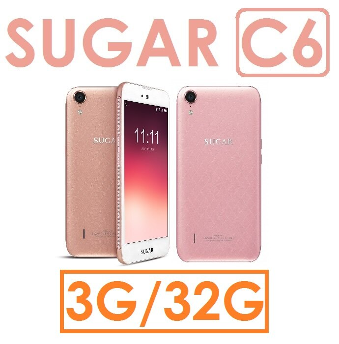 【預訂】糖果 SUGAR C6 四核心 5吋 3G/32G 4G LTE智慧型手機●雙卡雙待