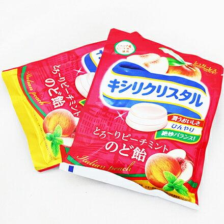 【敵富朗超巿】三星低卡薄荷喉糖-白桃63g 有效日期:2017.09.30