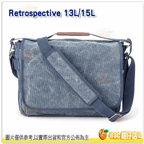 Think Tank 創意坦克 Retrospective Laptop Cases 13L 彩宣公司貨 復古筆電包 RS720 13吋 藍 極簡外觀設計