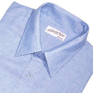 【魔法施】AYBORTEH★加大碼 M~2L(領圍15.5~18.5吋)舒適透氣!高級牛津布素色長袖襯衫 2