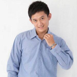 【魔法施】AYBORTEH★加大碼 M~2L(領圍15.5~18.5吋)舒適透氣!高級牛津布素色長袖襯衫 1