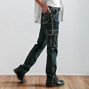 【魔法施】NUTUN 耍帥必備超顯高最IN貼袋中高腰牛仔褲~MAGIC_SHIH~