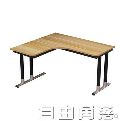轉角書桌家用電腦臺式桌臥室牆角拐角寫字桌子簡約現代L型辦公桌
