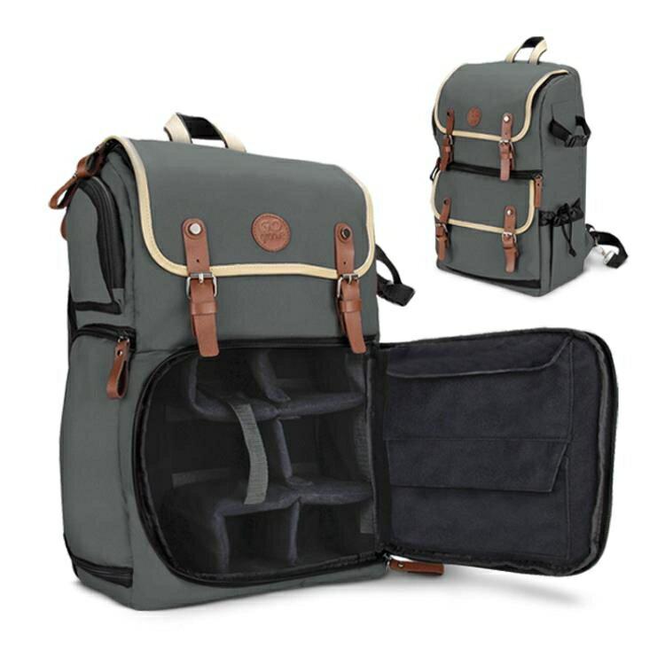攝影背包 GO Groove CBK佳慧80d單反相機包便攜多功慧後背包攝影背包電腦