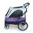 沛德奧Petstro寵物推車 / 狗推車-703GX 天際系列 (紫色 / 銀灰) 1
