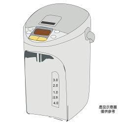 【Panasonic 國際牌】4L真空斷熱微電腦熱水瓶 NC-SU403P