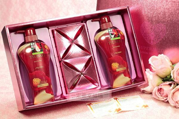一定要幸福哦結婚百貨:一定要幸福哦~~SHISEIDO思波綺TSUBAKI資生堂禮盒、喝茶禮、送客禮、婚俗用品