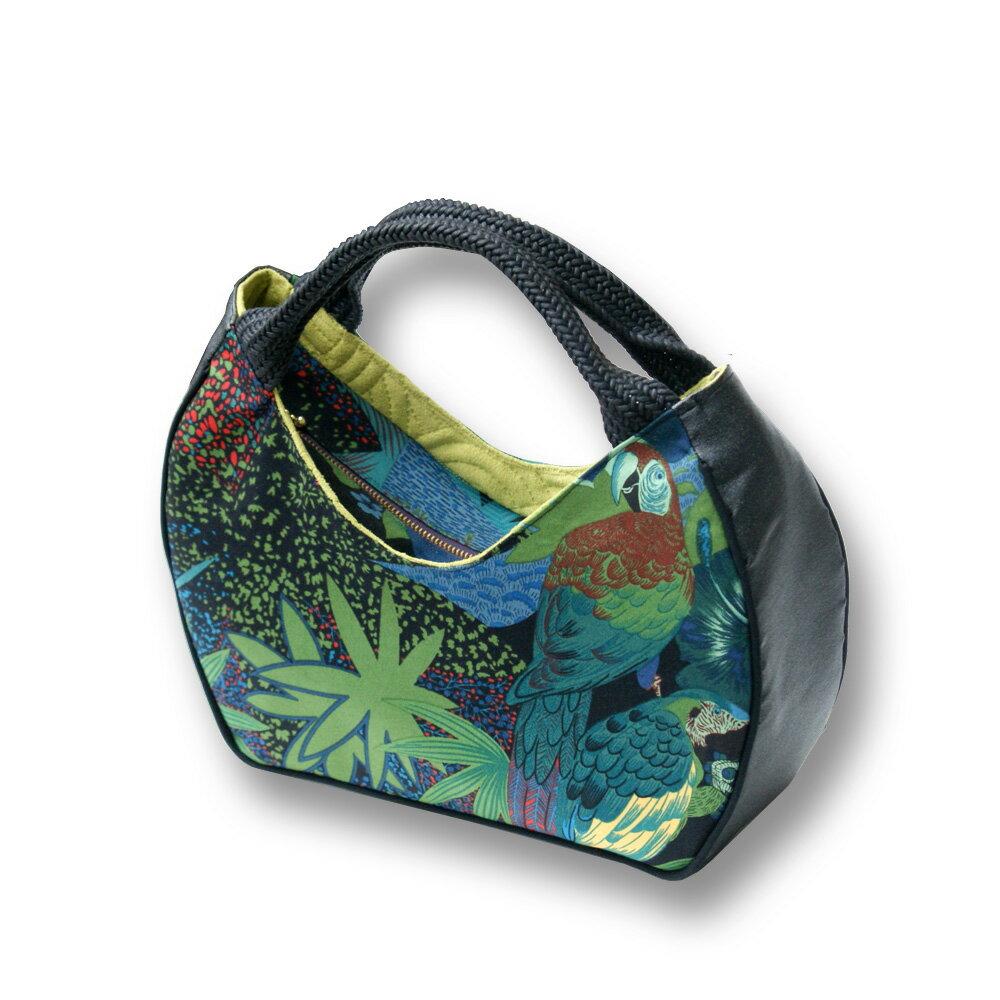 玩樂包-叢林休閒手提包/手做包/只有一件 (:32x24x10cm)