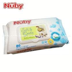 Nuby 全棉柔濕巾80抽 00987 好娃娃
