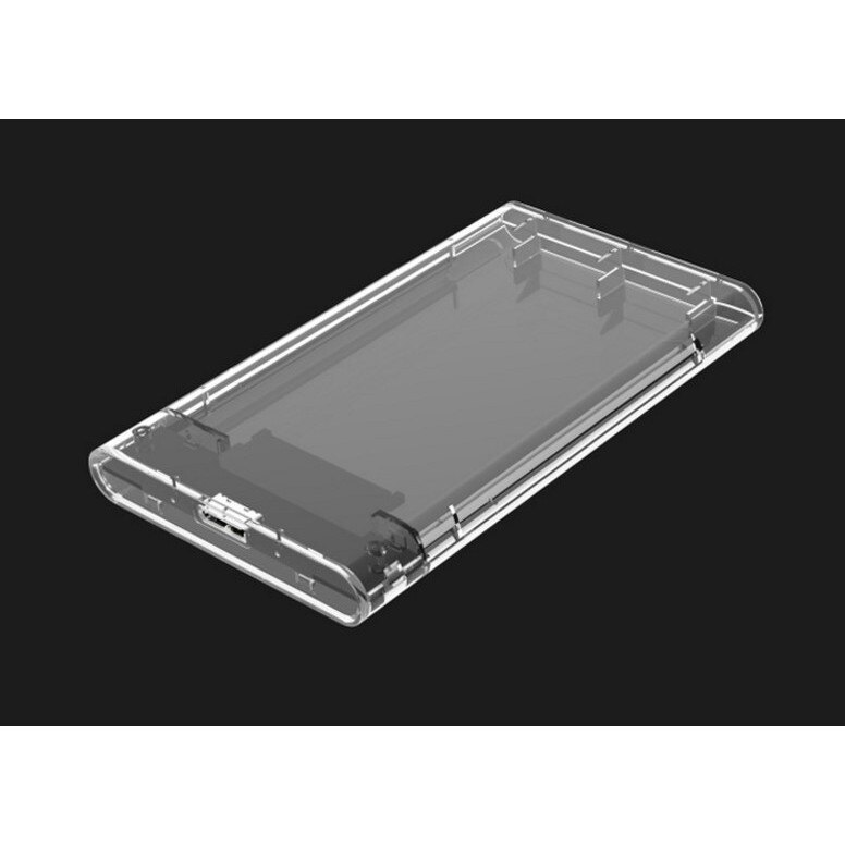云文 SSD轉USB3.0硬碟盒 SG217】透明高速移動硬碟盒 2.5寸串口SATA固態硬碟SSD通用DIGIT1029劉