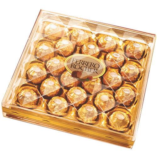 金莎巧克力金鑽禮盒24粒裝300g【愛買】