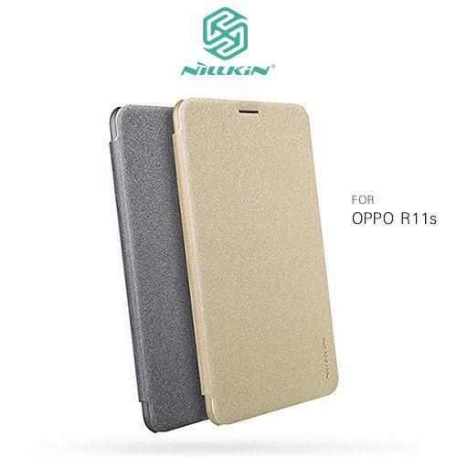OPPOR11sNILLKIN星韻系列硬殼側翻皮套保護套手機套皮套