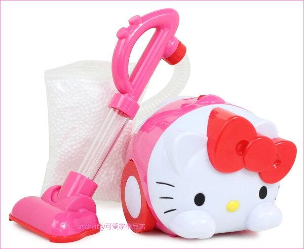 asdfkitty可愛家☆KITTY造型吸塵器玩具組-扮家家酒-日本正版商品