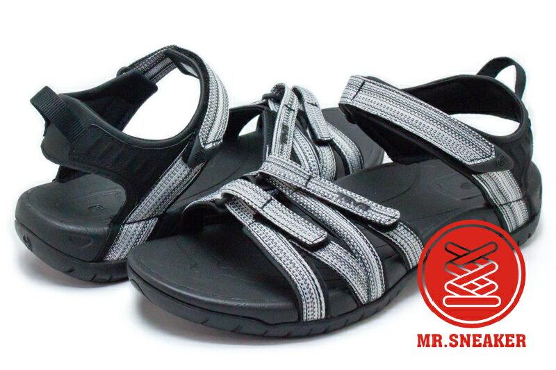 ☆Mr.Sneaker☆ TEVA TIRRA 運動 避震 易乾 涼鞋 BLACK/WHITE MULTI 黑灰 女款