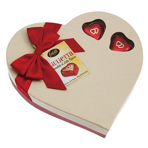 【菲雷堤Feletti 1882】義大利進口巧克力禮盒★心型茱麗葉巧克力禮盒★ - 限時優惠好康折扣