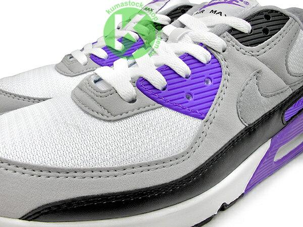2020 經典復刻慢跑鞋 OG 版型 NIKE AIR MAX 90 白灰黑 紫 網布 絨毛面 大氣墊 慢跑鞋 (CD0881-104) 0120 2