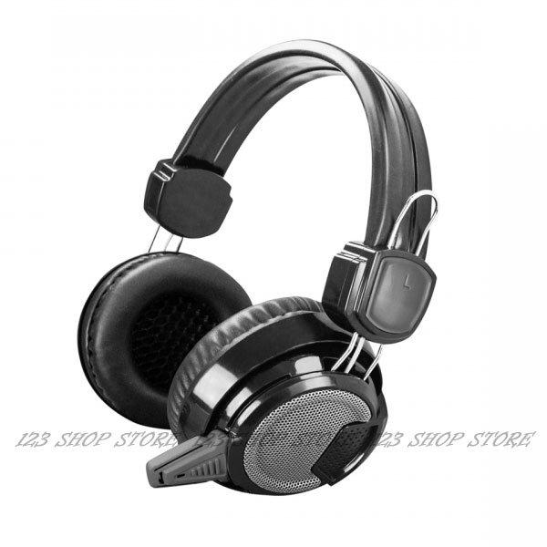 ◎123便利屋◎闇騎士電競立體聲耳機麥克風 EM-3701 麥克風耳機 3.5mm接頭