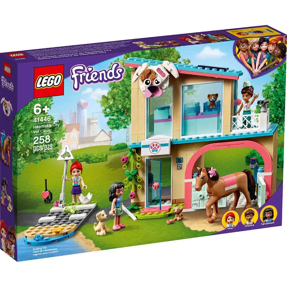 樂高LEGO 41446 姐妹淘系列 Friends 心湖城獸醫診所