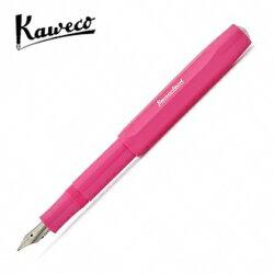 預購商品 德國 KAWECO SKYLINE Sport 系列鋼筆 0.7mm 桃紅 F尖  4250278610616 /支