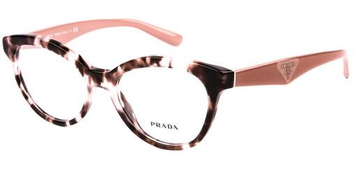 92179194f2 ... EAN 8053672270433 product image for Prada PR 11RV Triangle Eyeglasses  ROJ1O1 Pink