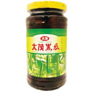 大茂 黑瓜 玻璃罐 375g