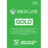 Microsoft Xbox Live 12 Month Gold Membership Card Global