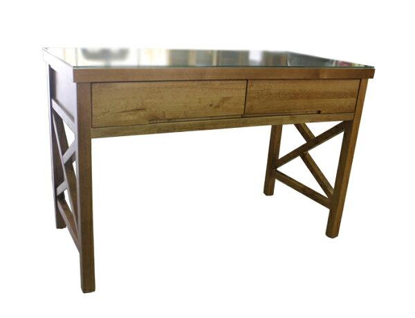 【尚品傢俱】655-97紐松實木4尺書桌(另有其他尺寸款式)