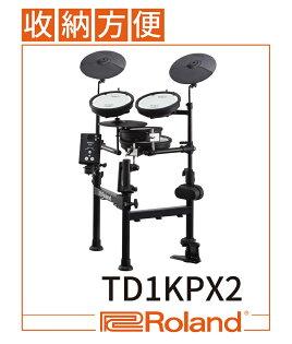 【非凡樂器】Roland樂蘭TD-1KPX2V-DrumsPortable電子鼓獨特折疊設計公司貨保固含鼓椅贈鼓棒.耳機.拭布