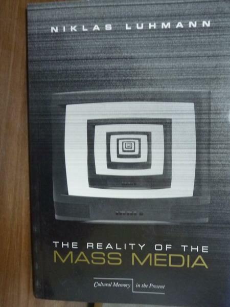 ~書寶 書T7/原文書_QDT~The Reality of the Mass Media