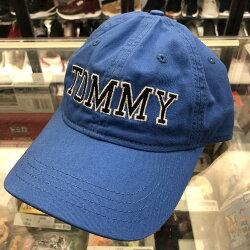 現貨 BEETLE TOMMY HILFIGER CAP 藍色 文字LOGO 經典LOGO 老帽 棒球帽 可調式 男女款