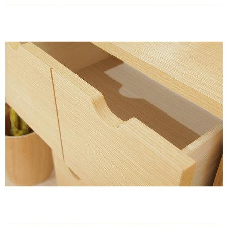 ◎(OUTLET)木質整理櫃 LUFFY2-80NA 福利品 NITORI宜得利家居 5