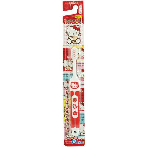 EBiSU Kitty 軟柄兒童牙刷 B-S741《康是美》