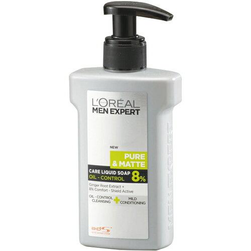 Loreal萊雅清潔保養雙效潔面露控油型《康是美》