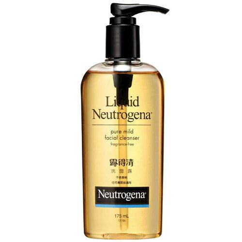 Neutrogena露得清洗面露中油無香精175ml《康是美》