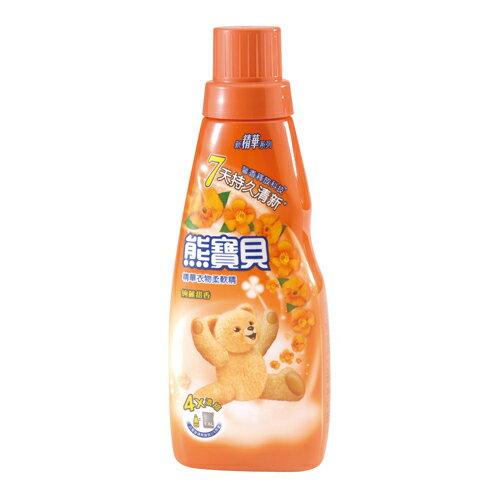 *優惠促銷*熊寶貝精華柔軟精絢麗甜香400ml《康是美》