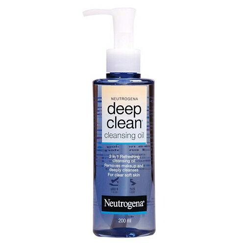 *優惠促銷*Neutrogena露得清深層淨透卸妝油200ml《康是美》