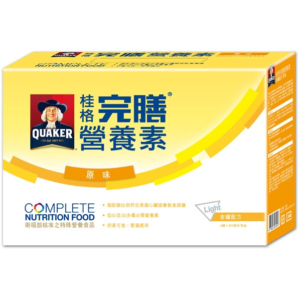 *優惠促銷*桂格完膳營養素-含纖原味8入《康是美》
