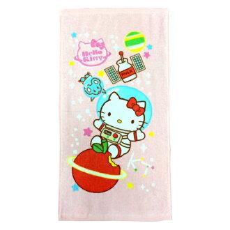 *三麗鷗系列 2件75折*太空系列-凱蒂貓童巾《康是美》