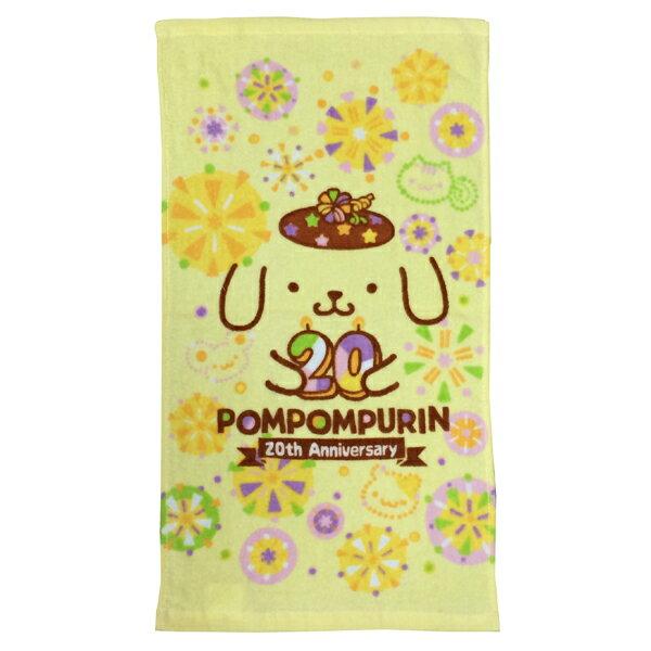 *卡通造型毛巾 2件85折*(實)布丁狗20週年童巾《康是美》